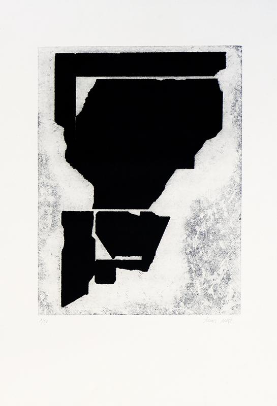 Lluís LLEO - Estampe-Multiple - Estudi d´un espai