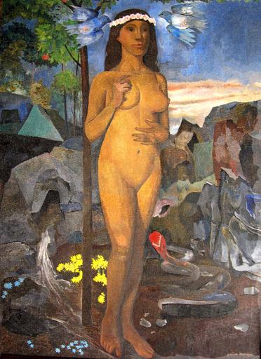 Gustavo MONTOYA - Painting - Eva