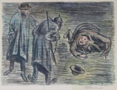 Ernst BARLACH - Print-Multiple - Le lâche
