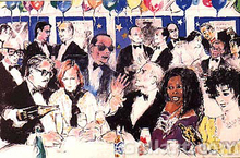 LeRoy NEIMAN - Print-Multiple - Celebrity Night at Spago