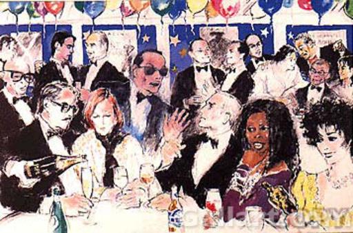 LeRoy NEIMAN - Print-Multiple - Celebrity Night at Spago