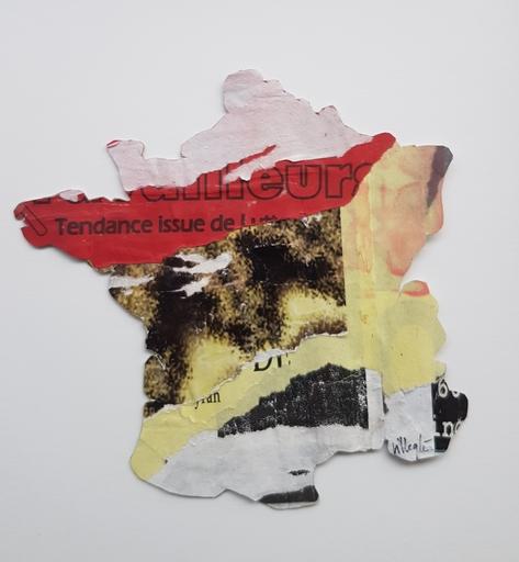 Jacques VILLEGLÉ - Painting - Senza titolo