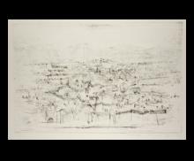 赵无极 - 版画 - Abandoned fields