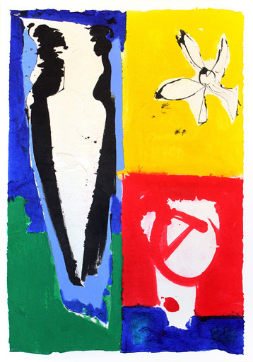 Judith WOLFE - Painting - Paradis perdu I