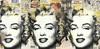 MR BRAINWASH - 绘画 - Marilyn 3X