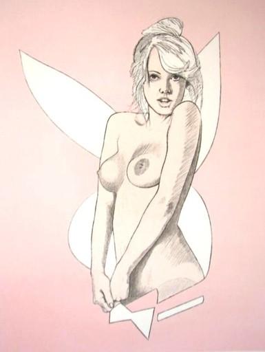 Mel RAMOS - Grabado - Playboy Bunny