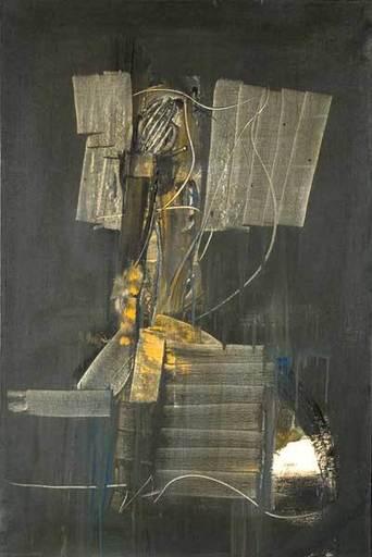 Piero RUGGERI - Painting - Uomo in grigio