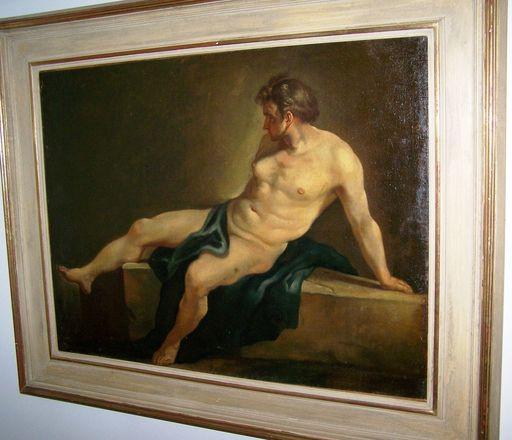 Jean-Baptiste Marie PIERRE - Peinture - Man studie
