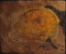 Jean PIAUBERT - Painting - Genese I, le temps du soir, 1987