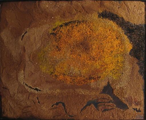 Jean PIAUBERT - Peinture - Genese I, le temps du soir, 1987