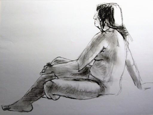 R.CAVALIÉ - Drawing-Watercolor - N.R. 143