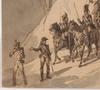 "Joseph Zephyris GENGEMBRE - 水彩作品 - ""Napoleonic Troops in Spain"", 1839, Drawing"
