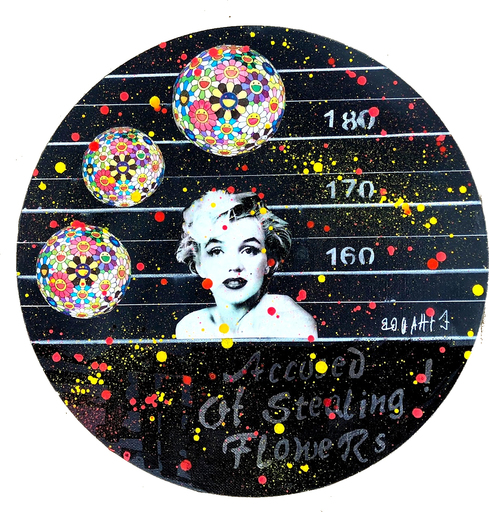 Ethan BANG-BANG - Pintura - Accused of : Marilyn