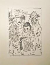 马克斯•贝克曼 - 版画 - Die Bettler