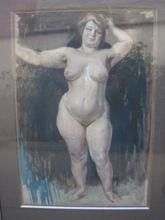 Frantisek KUPKA - Drawing-Watercolor - ETUDE POUR SOLEIL D AUTOMNE