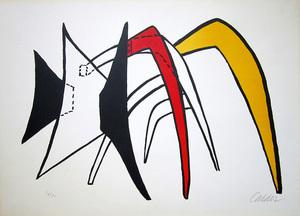 Alexander CALDER, Tamanoir jaune
