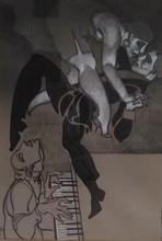 Juárez MACHADO - Painting - Fantaisie choregraphique