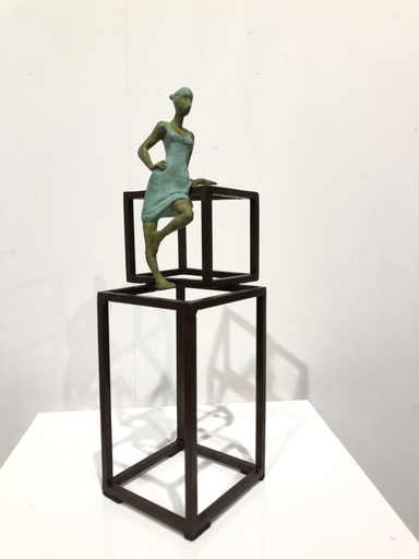 Joan ARTIGAS PLANAS - Sculpture-Volume - Small Cube Cuba III