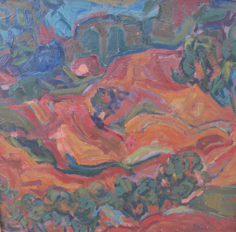 François LOMBARDI - Pintura - Paysage Provençal