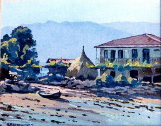 Abelardo BUSTAMANTE ALVARADO - Painting - ria