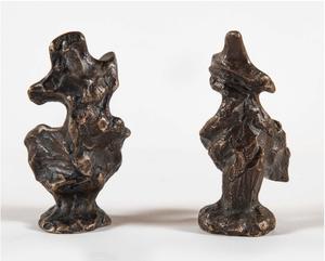 Diego GIACOMETTI - Escultura - Victoire de Samothrace A et B