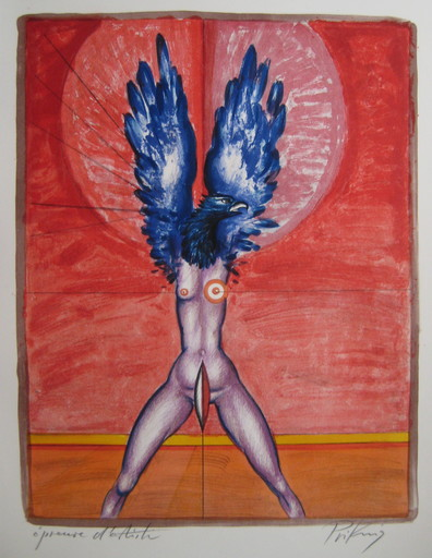 Franz PRIKING - 版画 - LITHOGRAPHIE 1974 SIGNÉE AU CRAYON EA HANDSIGNED LITHOGRAPH