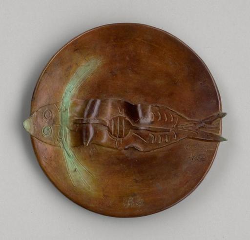 维夫里多•拉姆 - 雕塑 -  Pez (Assiette au Poisson)