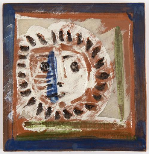 Pablo PICASSO - Keramiken - Petit visage solaire (A.R.553)
