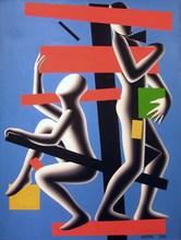 Mark KOSTABI - Pintura - Frame of reference