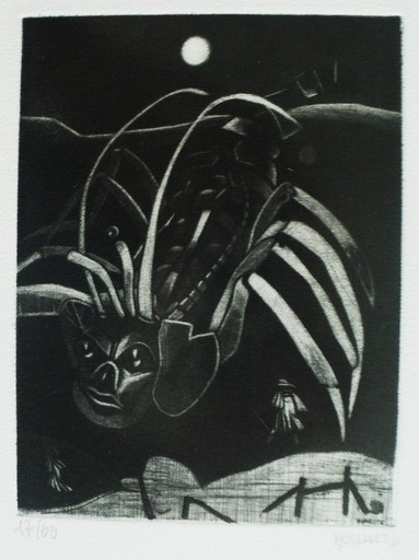Philippe MOHLITZ - Stampa Multiplo - Capture d'un animal