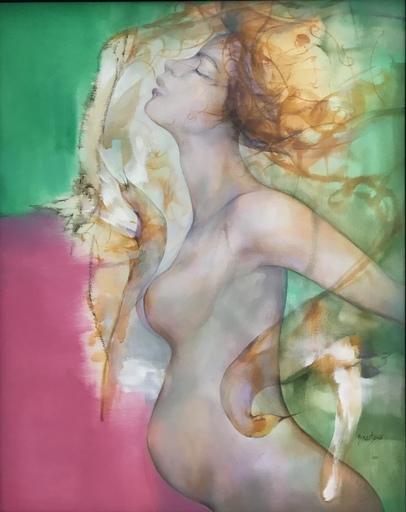 """Ernesto GARCIA PENA - Peinture - """"Y El Silencio Murmura"""""""