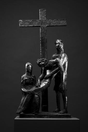 Libero ANDREOTTI - Scultura Volume - Deposition/Deposizione