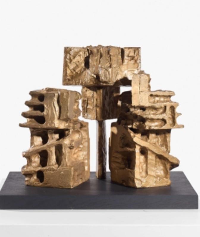 ETIENNE-MARTIN - Sculpture-Volume - Petite Demeurée (ou Hommage à Lovecraft)