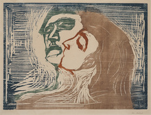Edvard MUNCH - Print-Multiple - Head by Head