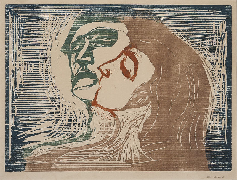 Edvard MUNCH - Stampa Multiplo - Head by Head