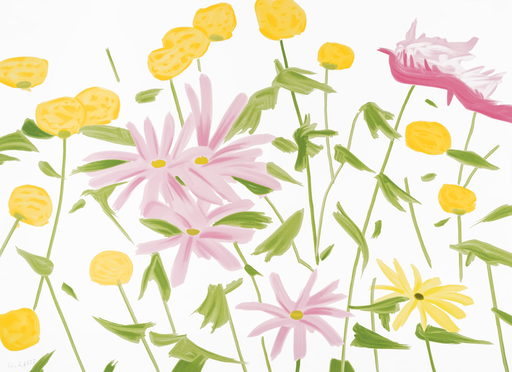 Alex KATZ - Druckgrafik-Multiple - Spring Flowers