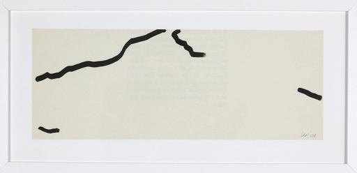 Véra MOLNAR - Disegno Acquarello - Sainte-Victoire