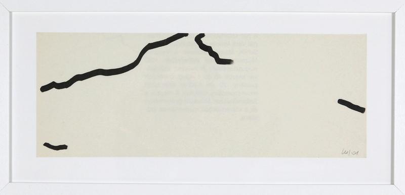 Véra MOLNAR - Drawing-Watercolor - Sainte-Victoire