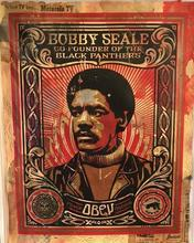 Shepard FAIREY - Painting - BOBBY SEALE HPM