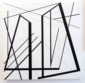 Ode BERTRAND - 绘画 - Equerre III