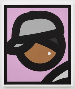 Julian OPIE - Print-Multiple - Paper Head 3