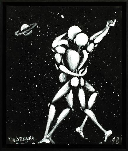 Jérôme MESNAGER - Peinture - Danse Dans L'espace (Réf.19,2018)