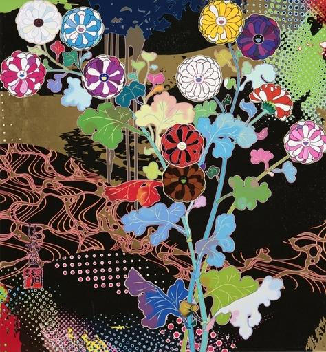 Takashi MURAKAMI - Grabado - Korin: Courtly Elegance