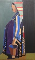 Eren EYÜBOGLU - Pintura - Sans titre