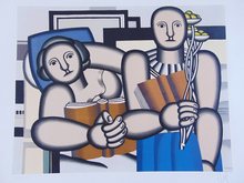 Fernand LÉGER (1881-1955) - The Reading