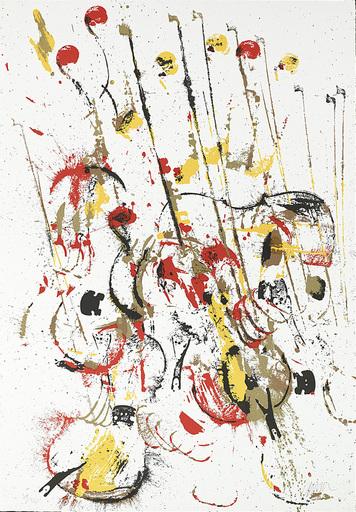 阿尔曼 - 版画 - Melody for Strings III
