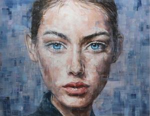 Harding MEYER - Painting - o.T. (04-2019)