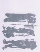 Joan MITCHELL - Print-Multiple - composition grise