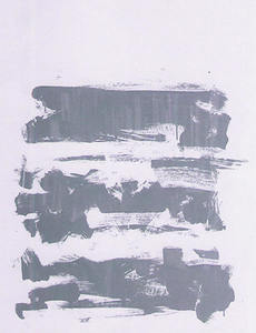 Joan MITCHELL - Stampa-Multiplo - composition grise