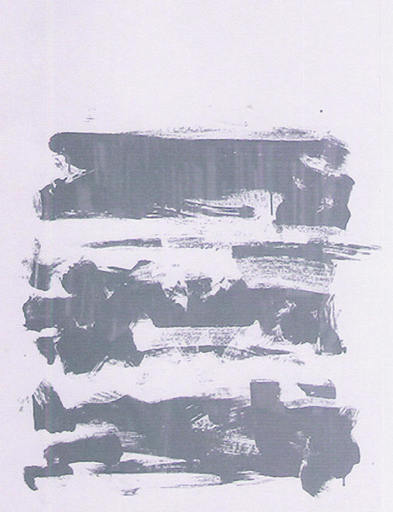 Joan MITCHELL - Grabado - composition grise